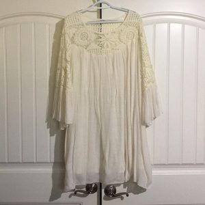 Plus size off white Boutique dress size 3x